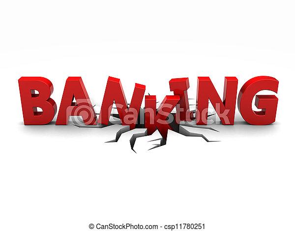 銀行業 - csp11780251