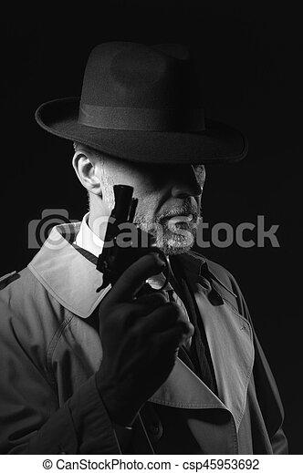 銃, 保有物, 人 - csp45953692
