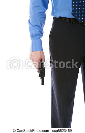 銃, 保有物, 人 - csp5623469