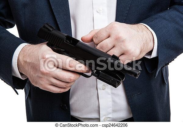 銃, 保有物, 人 - csp24642206