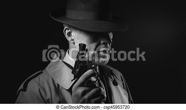 銃, 保有物, 人 - csp45953720