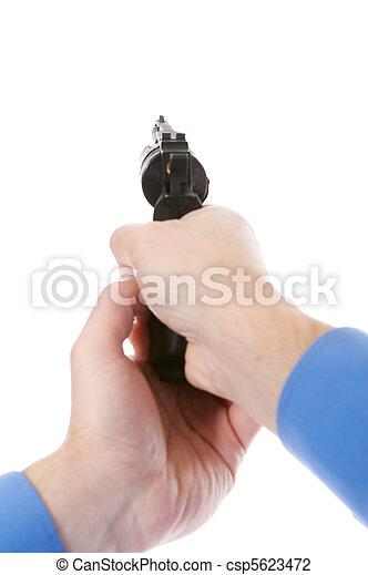 銃, 保有物, 人 - csp5623472