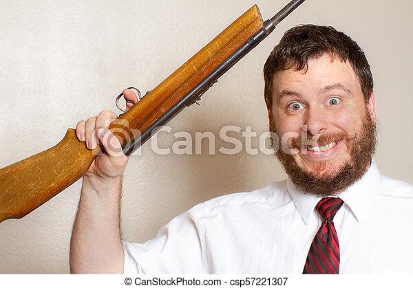 銃, 保有物, 人 - csp57221307