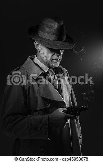 銃, 保有物, 人 - csp45953678