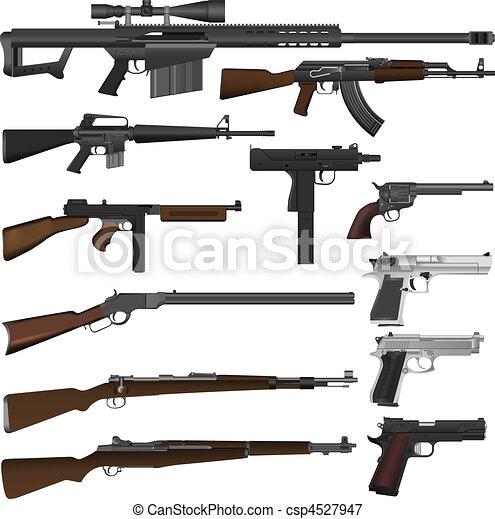 銃 - csp4527947