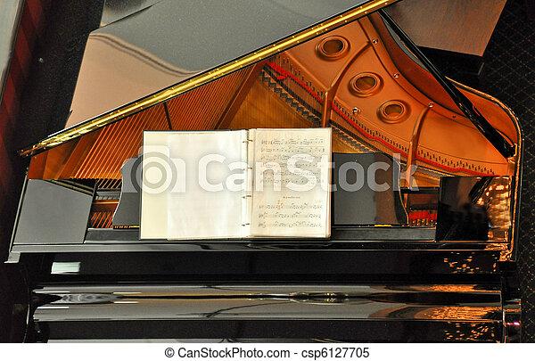 鋼琴 - csp6127705