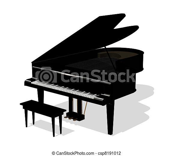 鋼琴 - csp8191012