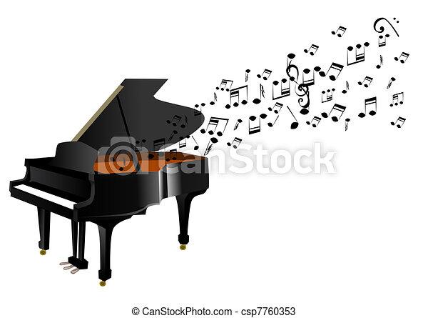 鋼琴 - csp7760353