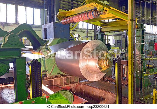 鋼鉄, コイル, 機械, 処理 - csp23200621