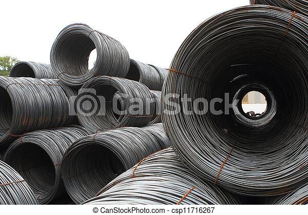 鋼鉄, シート, 回転する - csp11716267