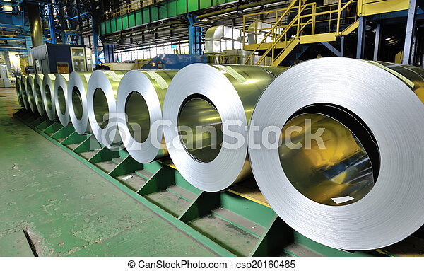 鋼鉄, シート, 回転する - csp20160485