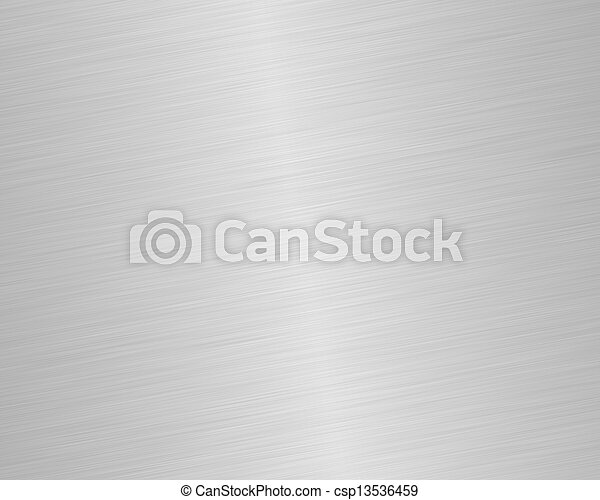 鋼鉄, 光沢がある, ブラシをかけられる - csp13536459