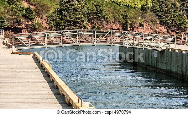 鋼鉄, 橋 - csp14970794