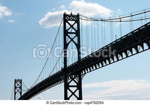 鋼鉄, 橋 - csp4762054