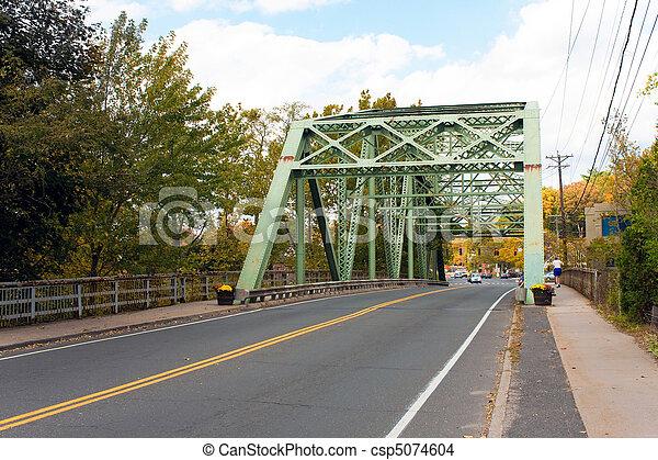 鋼鉄, 橋 - csp5074604