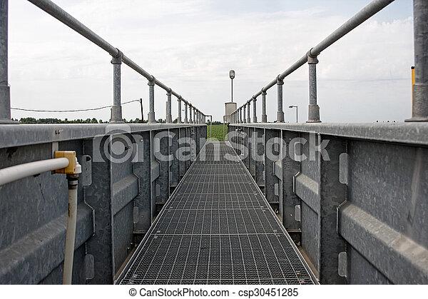 鋼鉄, 橋 - csp30451285