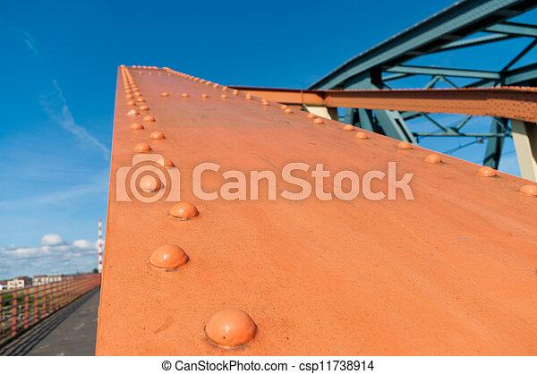 鋼鉄, 橋, 構造 - csp11738914
