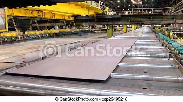 鋼鉄, 生産, シート - csp23495210
