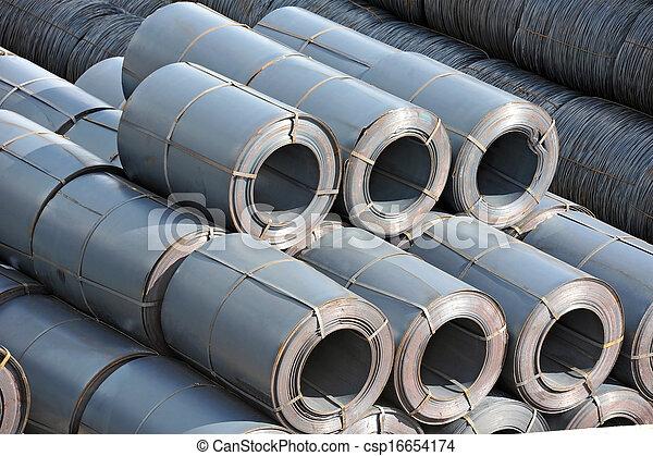 鋼鉄, metal-roll - csp16654174