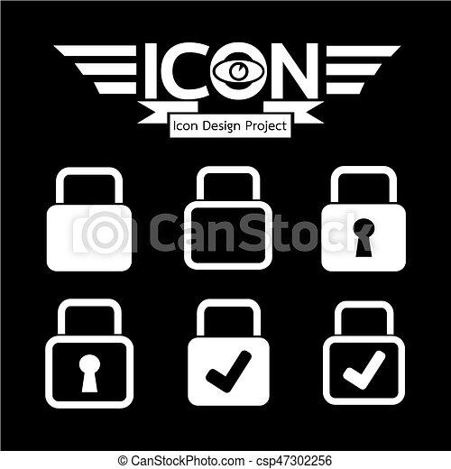 錠, アイコン - csp47302256