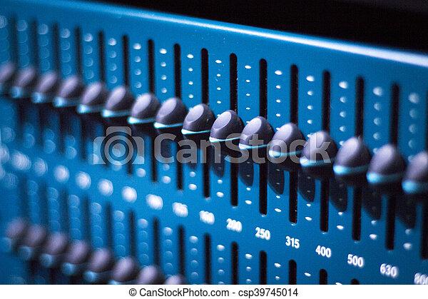 録音, オーディオ, スタジオ - csp39745014