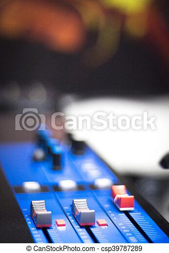 録音, オーディオ, スタジオ - csp39787289