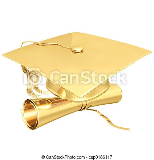 鍍金, 畢業 - csp0186117