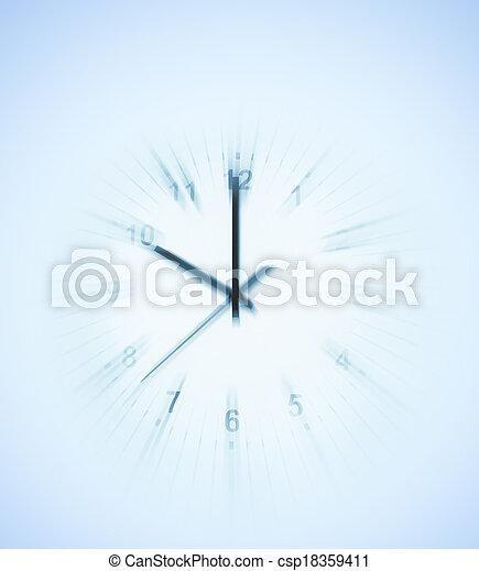 鐘 - csp18359411