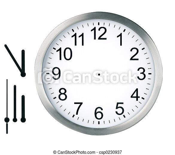 鐘, 被隔离, 輪 - csp0230937
