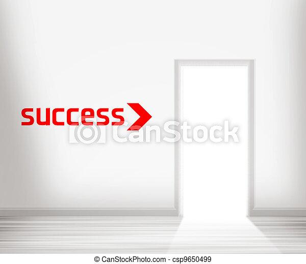 門, 成功 - csp9650499