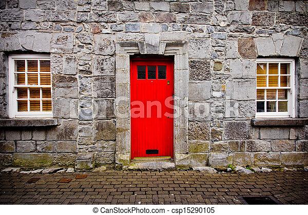 門, 紅色 - csp15290105