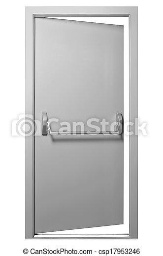 門, 緊急出口 - csp17953246
