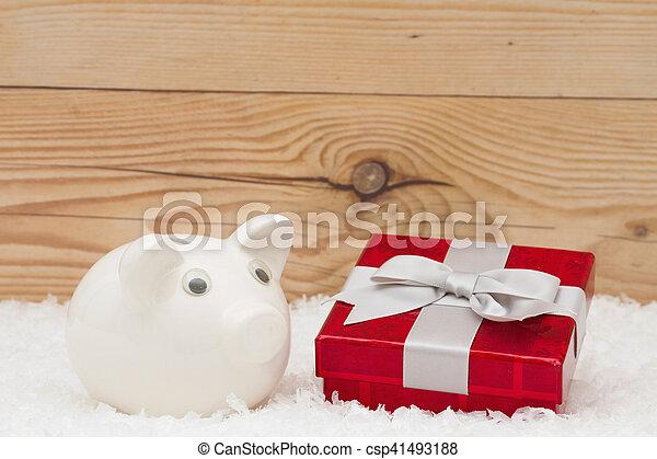 開支, 圣誕節時間 - csp41493188