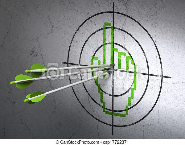 開発, 網, ターゲット, 壁, 矢, カーソル, 背景, マウス, concept: - csp17722371