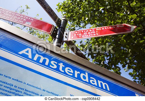 阿姆斯特丹, 發現, 方式, 你 - csp0908442