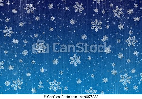 降雪 - csp0875232