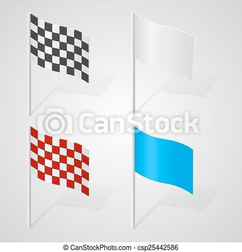 集合, 旗 - csp25442586