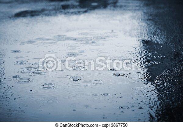 雨 - csp13867750