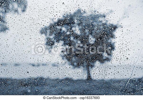 雨 - csp16337693