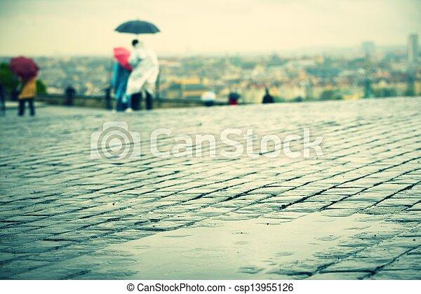 雨 - csp13955126