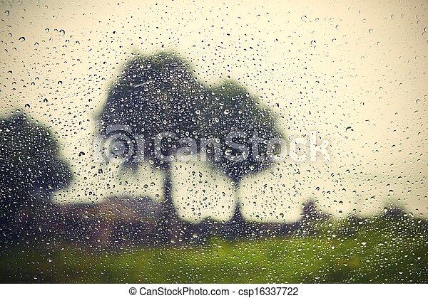 雨 - csp16337722