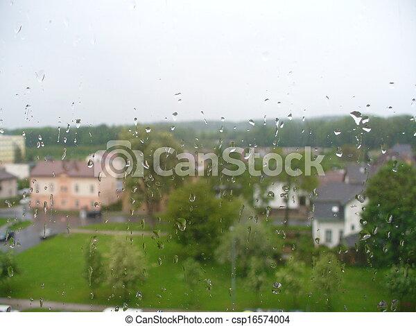 雨 - csp16574004