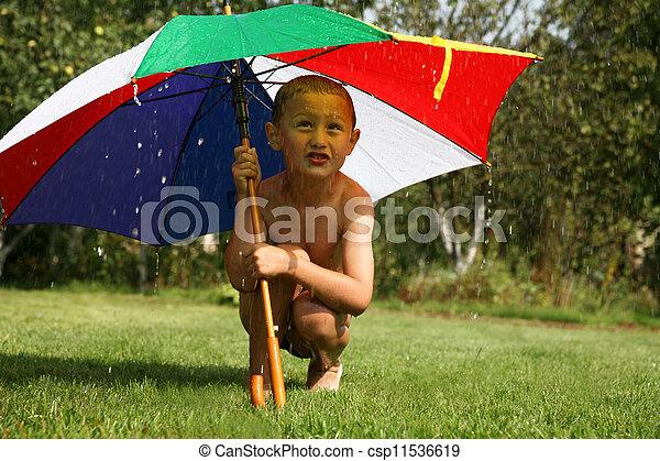 雨 - csp11536619