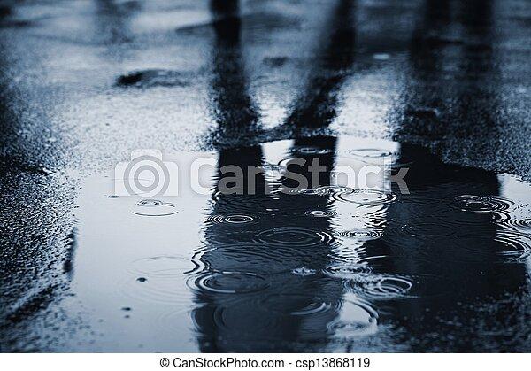 雨 - csp13868119