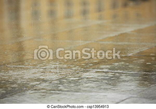 雨 - csp13954913