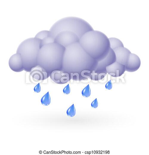 雨 - csp10932198