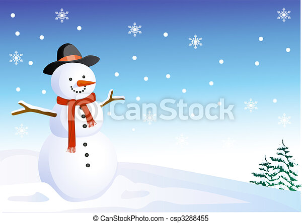 雪だるま - csp3288455