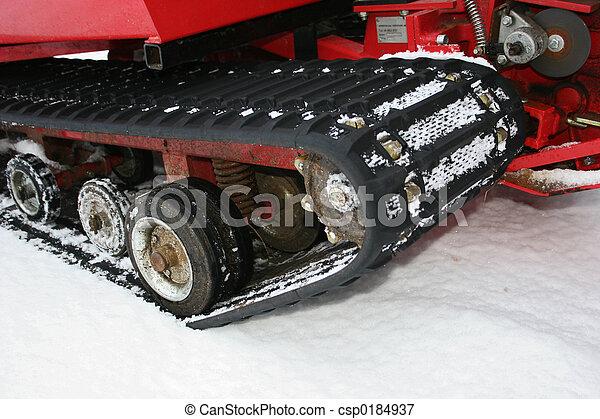 雪運載工具 - csp0184937