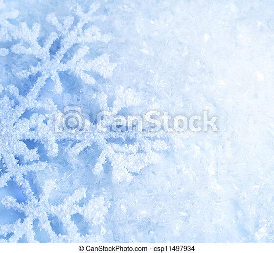 雪 - csp11497934