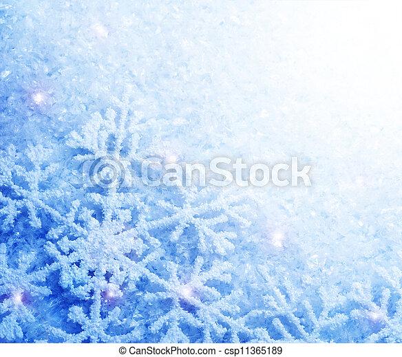 雪 - csp11365189
